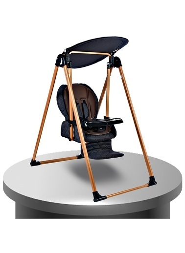 Baby Home Baby Home 870 Gold Mama Sandalyesi Salıncak Bebek Salıncağı Antrasit